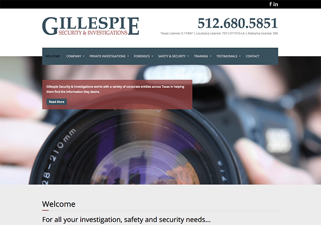 Gillespie Security & Investigations