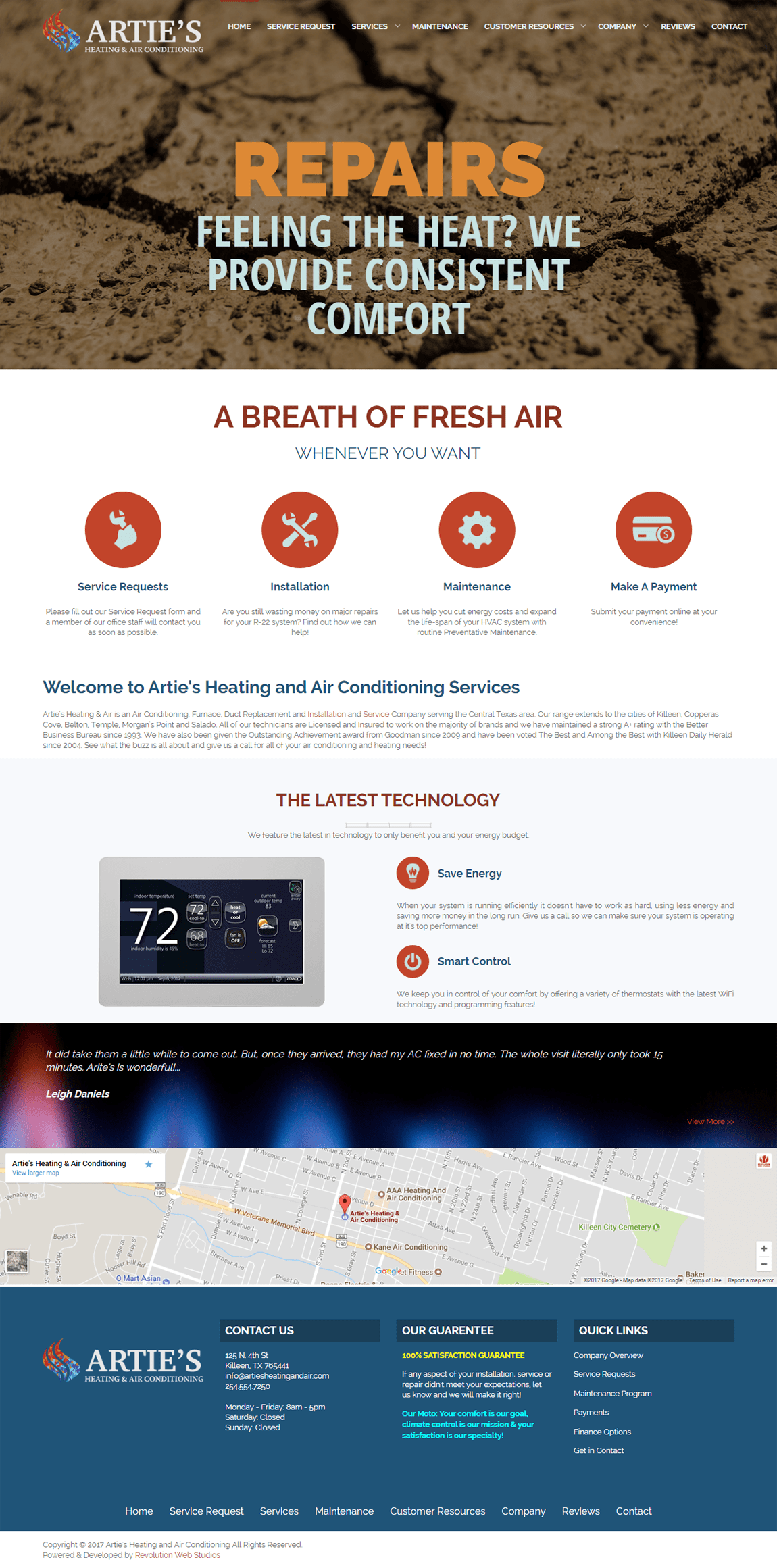 Artie S Heating Air Conditioning