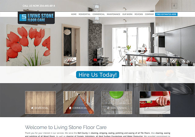 Living Stone Floor Care